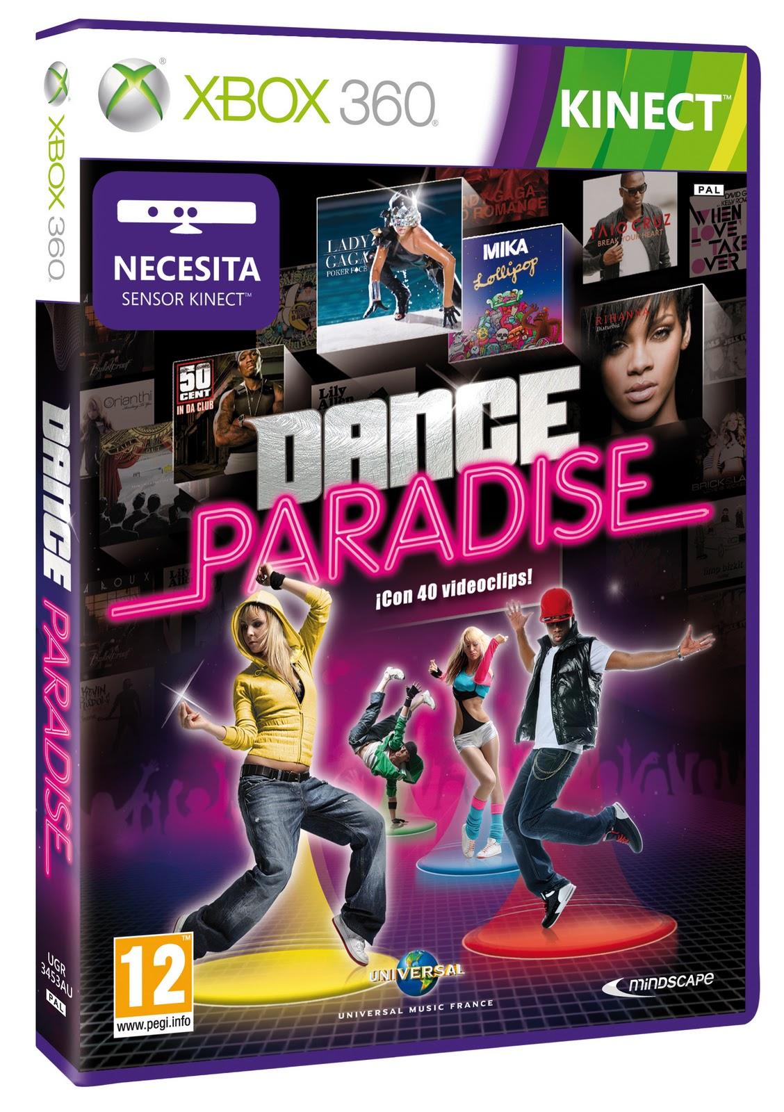 Dance Paradise Para Kinect En Xbox 360 Convertira El Salon De Tu