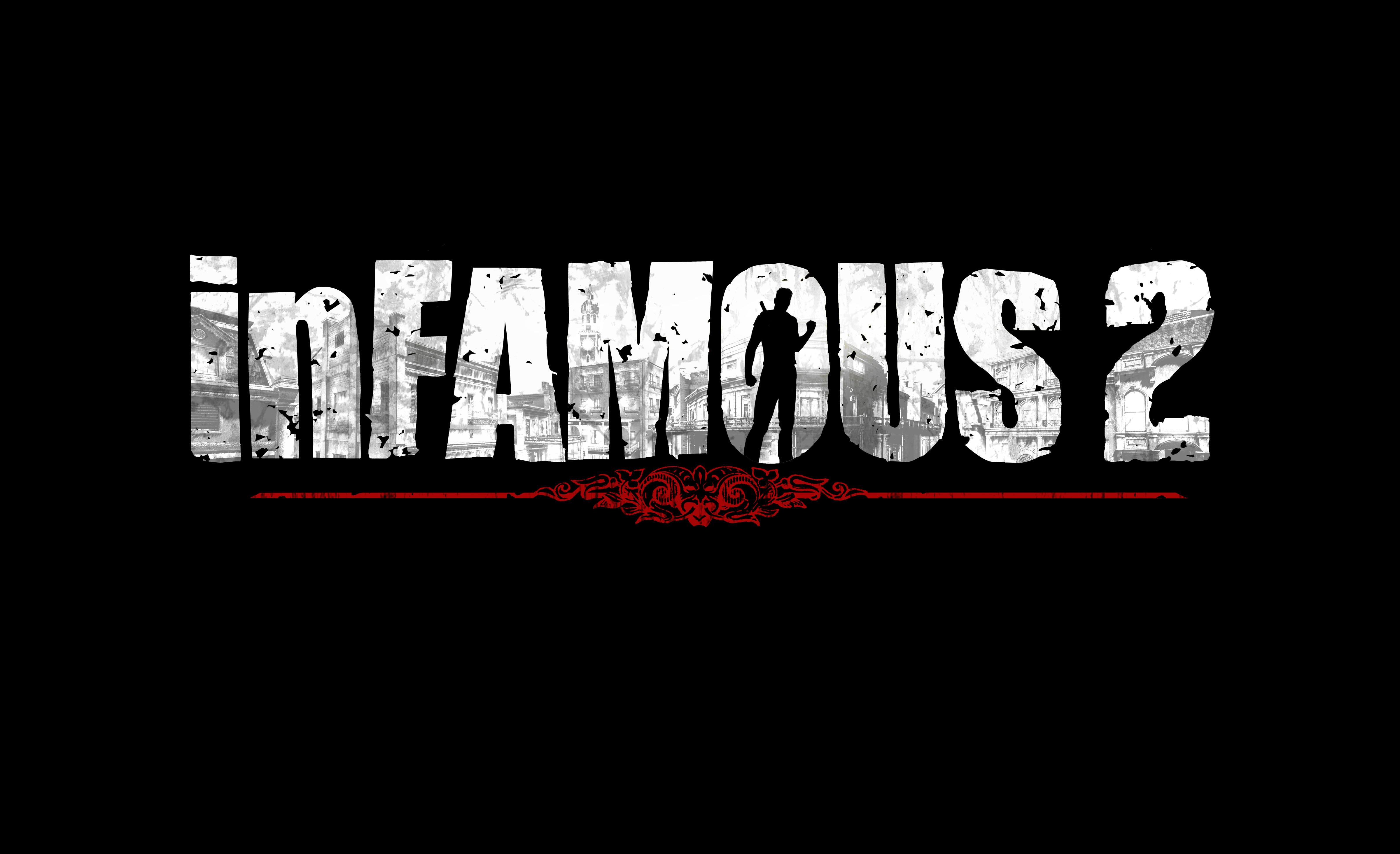 Infamous 2 Logo wallpaper 128136