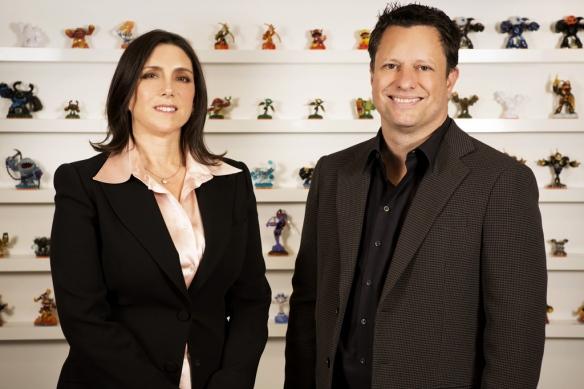 Stacey-Sher-&-Nick-van-Dyk-Activision-Blizzard-Studios