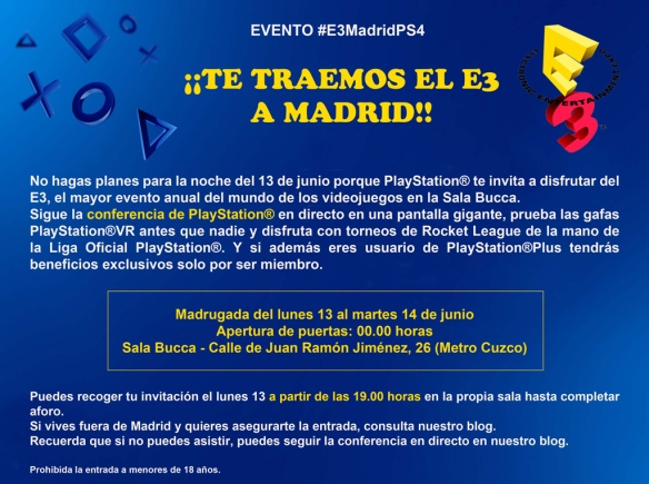 2016_06_03_Invitacion-E3_PlayStation